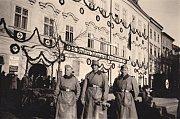 Německá okupace v Jihlavě.