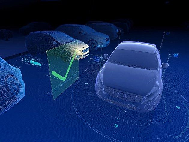 Volvo XC90 nabídne chytrý parkovací asistent.