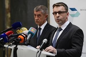Andrej Babiš a Vladimír Kremlík