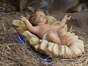 Ježíšek v jesličkách