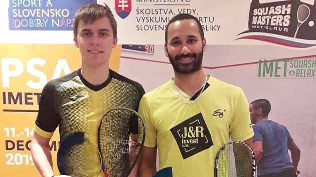 Viktor Byrtus (vlevo) a Daniel Mekbib.