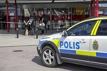 Švédská policie, policejní vůz/automobil - ilustrační foto.
