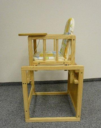 Česká obchodní inspekce (ČOI) zakázala prodej dětské židle polského výrobce.