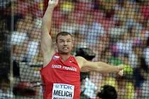 Kladivář Lukáš Melich neprošel v Pekingu kvalifikací.