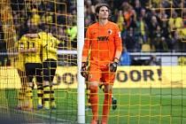 Ze zápasu Dortmund - Augsburg.