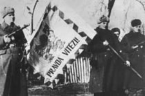 Buzuluk - odjezd čs.jednotek na frontu 30.ledna 1943 .