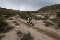 David Pabiška na Rallye Dakar 2013.