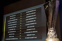 Trofej pro vítěze Evropské ligy a los čtvrtého předkola.
