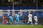 Ze zápasu Lyon - Zenit Petrohrad