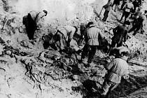 Exhumace obětí katyňského msakru