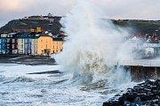 Hurikán Ophelia ve Skotsku
