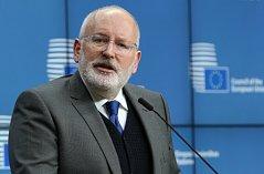 Místopředseda Evropské komise Frans Timmermans
