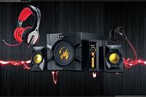 Audio produkty značky GX Gaming.