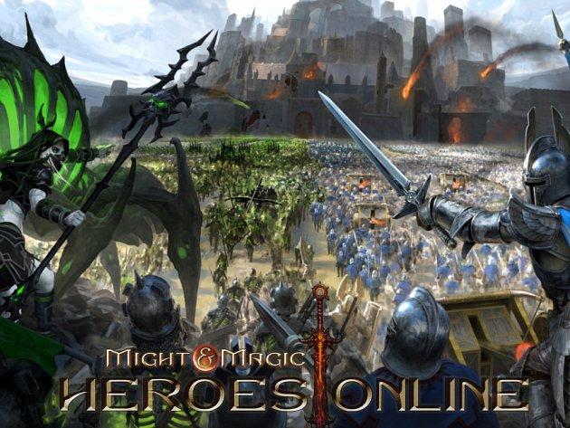 Počítačová hra Might & Magic Heroes Online.