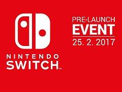 Setkání Nintendo Switch Pre-Launch v Kongresovém centru Praha.