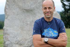Horolezec Radek Jaroš.