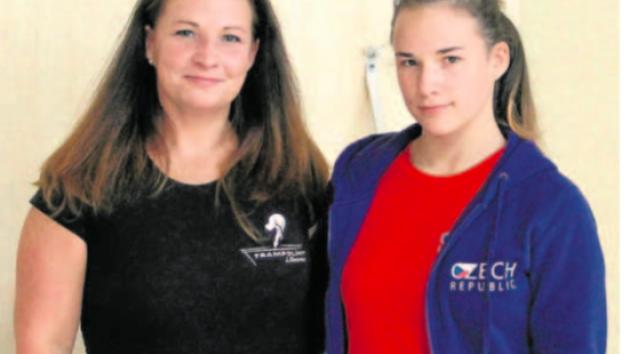 Aneta Hrudová s maminkou Soňou