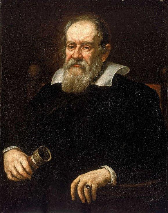 Portrét Galilea Galilei z roku 1636 od Justa Sustermanse