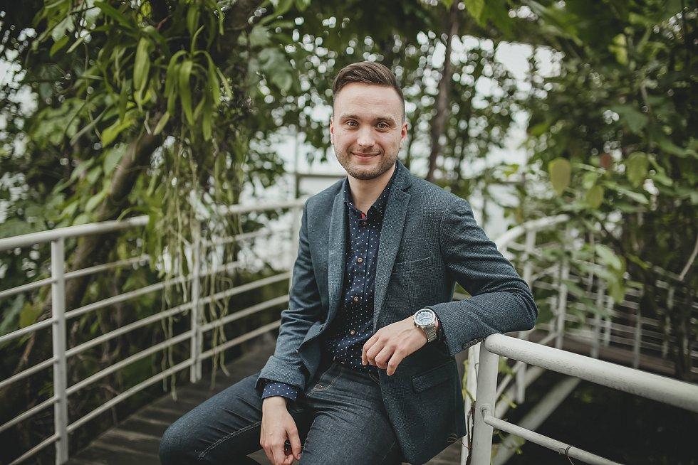 Petr Šíla, ředitel Botanické zahrady v Teplicích.