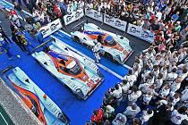 Závod Le Mans Series 1000 km Nürburgringu - vozy AstonMartin závod ovládly, tovární tým obsadil první tři místa.