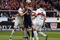 Bayern zdolal Stuttgart, k čemuž pomohl i Thomas Müller