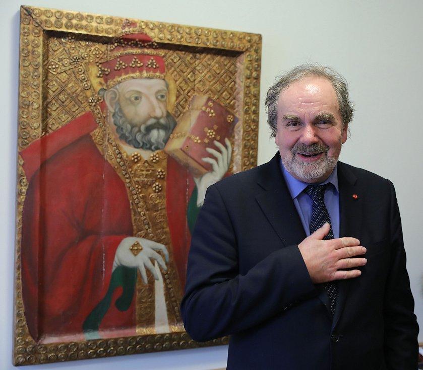 Profesor Jan Royt - historik umění.