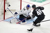 Tomáš Hertl při Utkání hvězd NHL.