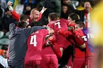Zlato. Tak vypadala radost fotbalistů Srbska do 20 let