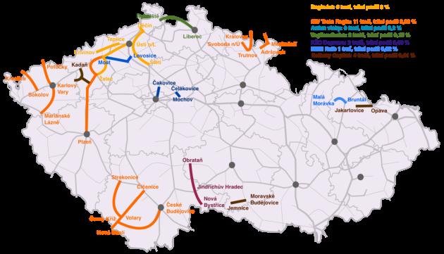 Soukromí dopravci na českých regionálních tratích