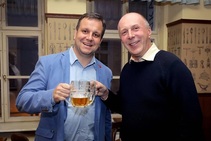 Tomáš Mráz, obchodní ředitele Plzeňského Prazdroje (vlevo)