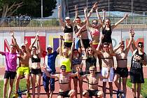 Čeští triatlonisté na kempu ve Španělsku