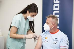 Očkování zaměstnanců Hyundai