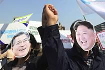 Veřejnost vítá mezikorejský summit