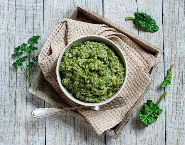 Zeleninové krémové rizoto