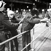 Palachův týden, leden 1989, zatýkání ve Vodičkově ulici