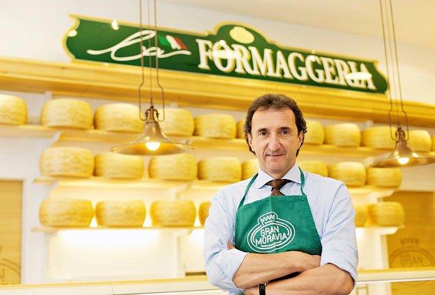 Roberto Brazzale, předseda představenstva mlékárenské sýrařské společnosti Brazzale.