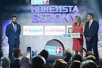 Slavnostní vyhlášení ankety Hokejista sezony Tipsport extraligy 2018/2019 se uskutečnilo 5. května 2019 v Brně. Hokejistou sezony se stal opět po roce Milan Gulaš (vlevo) z Plzně.