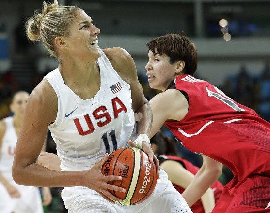 Americké basketbalistky porazily ve čtvrtfinále OH Japonky 110:64