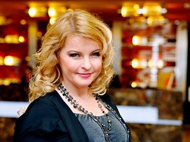 Zpěvačka Iveta Bartošová.