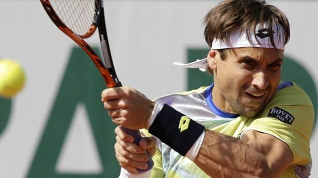 David Ferrer na French Open.