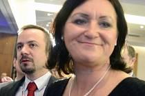 Marek Ženíšek a Helena Langšádlová.