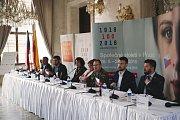 Tisková konference k tématu Národních oslav 100 let výročí republiky proběhla 19. září v Praze.
