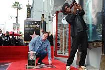 Quentin Tarantino má svou vlastní hvězdu na legendárním chodníku slávy.
