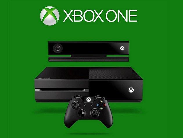 Herní konzole Xbox One s Kinectem.