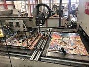 Továrna firmy Dino Toys v Mnichově Hradišti.
