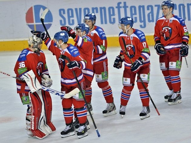 Hokejisté Lva Praha.