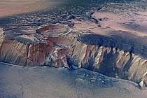 Oblast planety Mars zvaná Echus Chasma.