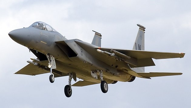 Stíhací letoun F-15C Eagle