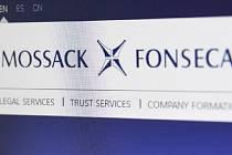 Webové stránky firmy Mossack Fonseca.