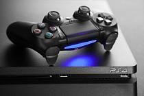 Herní konzole Sony PlayStation 4 - Ilustrační foto
